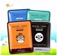 aging cartoons - BIOAQUA Animal Tiger Cartoon Style Mask For Female Face Care G Style cartoon dog sheep panda face mask Maisturizing