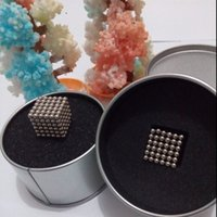 Wholesale 3mm Magic Magnet Puzzle magnetic balls Neodymium magnetic balls fun gift neo cube magn cubo magico Tin box packaging
