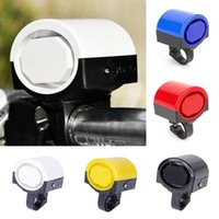 Wholesale 5 Brand New Bicycle Bell Round Handlebar Mount Safety Warning Bike Horn Bell FG15353