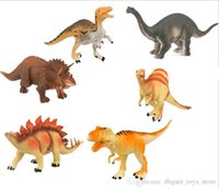 Wholesale 6 set Simulation Dinosaur mix Health and Safety model toys for kids multicolor