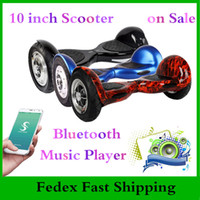 Wholesale Super Power Phone APP inch Two Wheels Hoverboard Bluetooth Music Player Electric Scooter Balance Wheel Smart Balance Scooters Skateboard