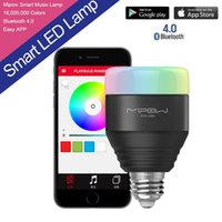 Wholesale 5W E27 MIPOW Playbulb Bluetooth Smart LED Light Bulbs APP Smartphone Group Controlled Dimmable Color Changing Smart illumination