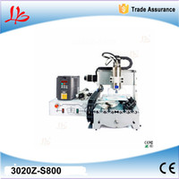 Wholesale axis cnc router Z S800 mini cnc milling machine with W water cooling cnc spindle to Russia include tax