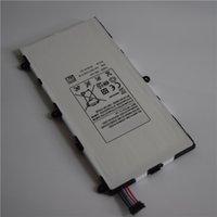 Wholesale 100 Original Tablet Full Capacity Battery T4000E mAh V For Samsung Galaxy Tab T210 T211 Batery P3210 P3200