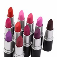 Wholesale Valentines dhl Brand Lipstick HOT NEW Rubywoo Makeup Luster Lipstick Frost Lipstick Matte Lipstick g colors lipstick