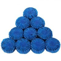 beaded clean - 10x Blue Bubble Automatic Toilet Antibacterial Cleaning Tabs Cleaner