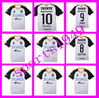 adult mexico jersey - mexico Tigres UANL Tigers Jerseys Shirt Jersey GUERRON SOBIS GIGNAC DUENAS America Home adult Tracksuits Wholesalers