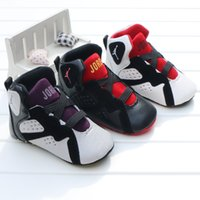 anti skid rubber - Baby kids letter First Walkers Infants soft bottom Anti skid Shoes Winter Warm Toddler shoes colors C1554
