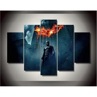 begin figure - Canvas Printings Batman Begins Dark Knight Painting Wall Art Home Decoration Poster Canvas Unframed