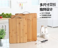 Wholesale 30pcs Thickness mm Small Size Rectangular Natural quot Green quot Bamboo Butcher Block Cutting Board Kitchen Accessories