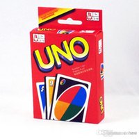 Wholesale UNO Playing Poker Cards Table Game Standard Edition Family Fun Entermainment Board Game Kids Funny Puzzle Game