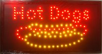 Wholesale direct selling custom graphics X19 inch indoor Ultra Bright Led hot dog open store Neon lighted Sign
