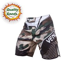 Wholesale Quality goods MMA Camo Hero fight short Muay Thai Boxing shorts