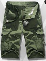Wholesale colors Male summer cotton shorts european American man redblue pantscasual men trousers high quality