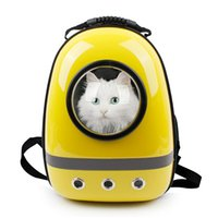 Wholesale Innovative Patent Bubble Pet Carriers Traveler Bubble Backpack Pet Carrier for Cats and Dogs Soft sided Outdoor Travel Mesh Pup Pack for Pe