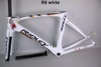 Wholesale 2016 Ridley T1000 UD Carbon Frames Italy Quality Road Bike Frameset White and Black Carbon Frames