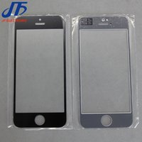 Wholesale DHL outer glass front outer screen glass lens replacement for iphone g c s g plus s s plus