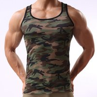 army camo vest - Summer Outdoors Hunting Camouflage shirt Men Breathable Army Tactical Combat Vest Military Dry Sport Camo Outdoor Camp Tees K
