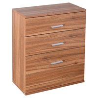 bedroom storage chests - 3 Drawer Chest Dresser Clothes Storage Bedroom Furniture Cabinet