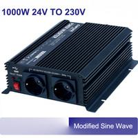 Wholesale 1000w v or v to v v dc ac power inverter modified sine wave hz with car fuse