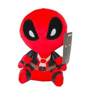 child delivery video - 20CM Marvel Movie Deadpool Soft FUNKO POP Deadpool Spiderman Plush Doll Toy Figure Free Delivery Gifts For Child
