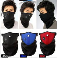 Wholesale Big discount Neck Warmers Balaclavas dust mask Warm Half Face Mask For Cycling Sport riding WG CS game masks T0140