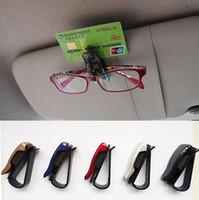 auto tickets - Hot Sale auto fastener clip Auto Accessories ABS Car Vehicle Sun Visor Sunglasses Eyeglasses Glasses Ticket Holder Clip