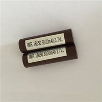 Wholesale 18650 Battery mAh A Rechargable Lithium Batteries for lg hg2 Cell Ecigs Vaporizer Vape box mod
