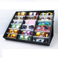 glass jewelry box - Jewelry Box Display Box Eyeglass Sunglasses Glasses Storage Display Grid Stand Case Box Holder Slot Display Box Jewelry Boxes Show