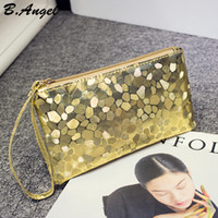 Wholesale 6 Color High quality Bling Stone Pattern Wallet Elegant clutch purse Cell Phone Pocket Coin Purse Pocket Coin Wallet ZLX