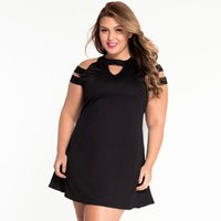 big mini skirt - Hot and fasion super girl for big sizes plus sizes black Strapless loose skirt sexy dress