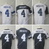 america logos - Factory Outlet NIK Elite Dallas Dak Prescott Cowboys Stitched Embroidery Logos America Football Men s Jerseys Newest Uniforms Sweatshirts