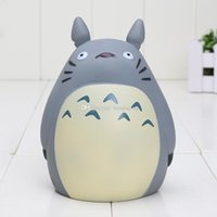 banks animation - Animation Hayao Miyazaki my neighbor totoro figure totoro piggy bank PVC Action Figure Dolls Piggy Bank Kids Toys Gifts for Children