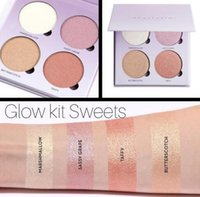 Wholesale DHL FREE HOT ABHNew ABH Glow Kit Sweets Highlighter Bronzer Palette Colors Palette Shimmer Shinny Powder Makeup