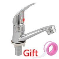 bathroom basins with faucet - Single cold faucet bathroom faucet with cold water basin faucet washbasin special offer