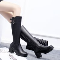 beautiful postage - European and American popular knight boots black and brown let beautiful companion exempt postage with you