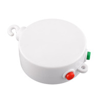 Wholesale White Melodies Song Baby Kids Mobile Windup Crib Bed Bell Electric Autorotation Music Box Cots Songs