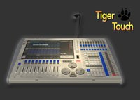 Wholesale professional tiger touch version DMX international controller with flycase for led stage party disco KTV bar lighting