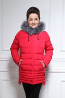 Wholesale Olmesar Parka Winter Jacket Women Coat New Arrive Plus Size XL Cotton Down Jacket Hooded Thicken Cotton padded Jacket