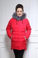 Wholesale SpiritMoon Parka Winter Jacket Women Coat New Arrive Plus Size XL Cotton Down Jacket Hooded Thicken Cotton padded Jacket