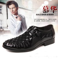 best british bands - best selling new British tide pointed paint light leather shoes men s shoes nightclub stylist han edition recreational leather shoes