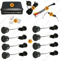 Wholesale 10 Color Car Sensors Dual view Video Parking Sensor System Backup Radar