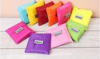 Wholesale 2016 shopping bag women messenger bags Fashion portable bags large shopping bags nylon folding bag waterproof bags travel finishing handbags