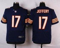 Wholesale 17 Jeffery New Arrivals Men Bears Blue Elite Stitched Jerseys Free Drop Shipping lymmia Mix order