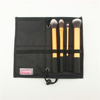 real techniques makeup brush - real tech gold purple mix Brushes soft hair Pro Makeup Cosmetic Brushes Real Makeup Powder Brushes Techniques Makeup Set Kit