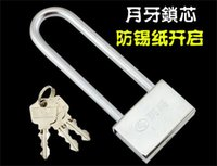 Wholesale Alloy Steel Building Supplies Door Hardware Head Anti theft Padlock Anti theft And Anti Prizing Door Lengthened Padlock