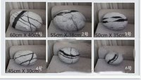 baby garden decoration - 6 Livingroom Decoration Comet Stone Cushion Baby Natural Garden Stone Pillow Toy With Cotton