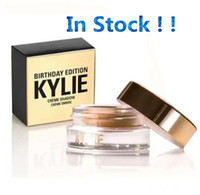 Wholesale 60pcs in Stock Kylie Jenner Birthday Editon Kylie Cosmetics Creme Shadow Copper Rose Gold Creme OMBRE perfect