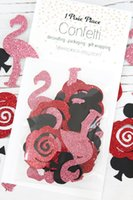 alice roses - We re Painting the Roses Red Glitter Confetti Alice in Wonderland Table confetti Party Decorations