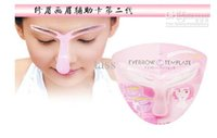 Wholesale Eyebrow Shaper Template Brow Stencil Shaping Tool Perfect Professional Eyebrow Template